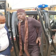 Photospeak: Show Of Power In Owerri As Okorocha Is Arrested