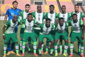 Qatar 2022 Race: Super Eagles Edge Blue Sharks, Stay On Top Of Group C