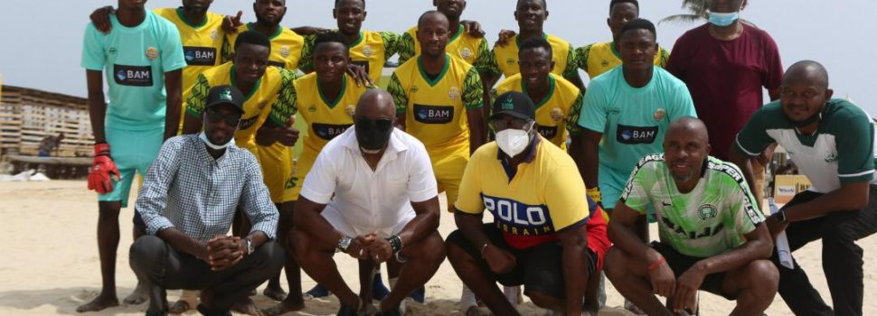 Lagos:Pinnick kicks off new Nigeria Beach Soccer League
