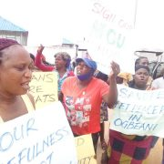 Ogbeani Community Protests Against Oil Coy In Delta