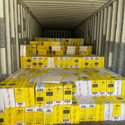 Onne: Customs Uncovers (1387) Cartons Of Tramadol Concealed With Ceramic Tiles