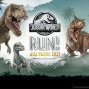 Jurassic World RUN! Asia Pacific 2021: Start Running for the First-Ever Jurassic World Virtual Run in Asia Pacific