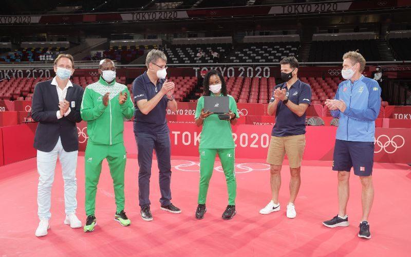 ITTF Inducts Olufunke Oshonaike Into 'Club 7'