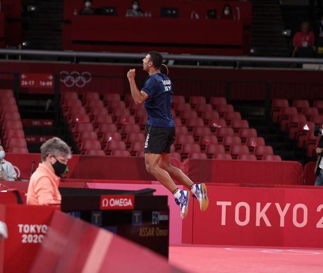 Omar Assar Equals Aruna's Olympics Feat At Tokyo