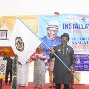 Yenagoa Rotary Installs New President