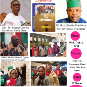 Book Launch: The Experience': Ugoani Unveiled As Father of The Day