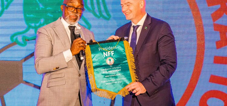 Infantino Happy Over Meetings With President Buhari, First Lady, Pours Encomiums On Pinnick